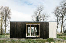 Sustainable Prefab Cabins - Ark Prefab Cabins Provide a Turnkey Option to Escape the Grind