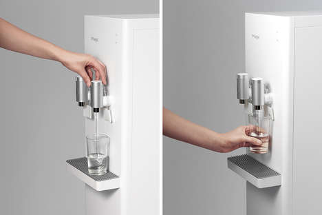 Streamlined Purifying Water Dispensers