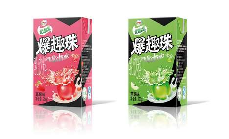 Juice-Infused Yogurt Drinks - These Fruity Yogurt Drinks are Being Marketed Towards Kids & Teenagers