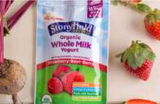 Child-Friendly Yogurt Pouches - This Drinkable Yogurts are Designed Specially for Kids and Infants