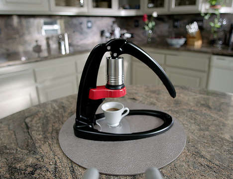 Personalized Control Espresso Makers - The 'Flair' Manual Espresso Maker Ensures Optimized Brews