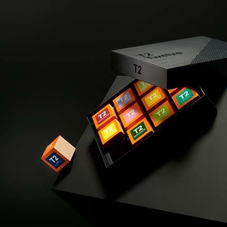Cubic Tea Packaging