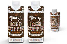 Gingerbread-Flavored Coffee Drinks