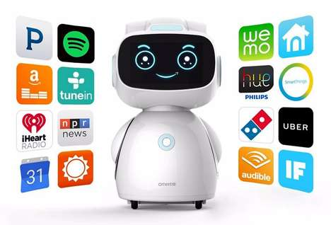 Friendly Voice-Activated Robots - The Omate Yumi Computer Robot Features Support for Amazon's Alexa