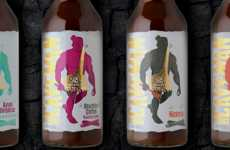 Caveman-Themed BBQ Sauces
