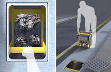 Trash-Catching Sewer Filters - The Trash Interceptor Ensures Drainage Sewers Stay Trash-Free
