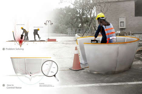 Construction Noise-Isolating Barriers