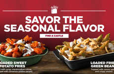 Marshmallow-Topped Side Dishes - White Castle's Loaded Sweet Potato Fries Feature Sweet Toppings
