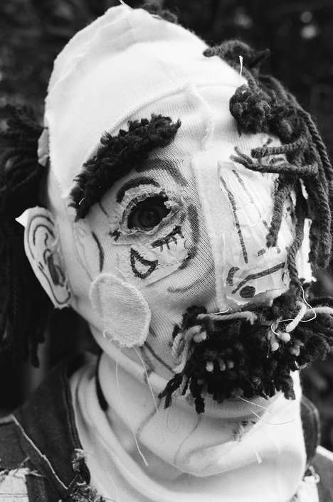 Eerie Masked Editorials