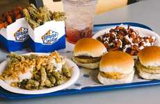Holiday-Themed Turkey Burgers - White Castle's New Turkey Sliders Come in Sweet and Savory Flavors