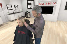 Virtual Hairstyling Programs - L'Oreal Created an Educational VR Experience Called 'Matrix Academy'