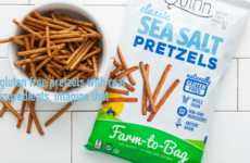 Sorghum Grain Pretzels - Quinn's New Gluten-Free Pretzels are Made from Whole Grain Sorghum