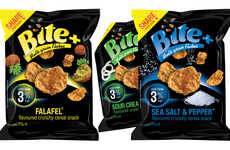 Savory Cereal Snacks - The Bite+ Snacks from Empire Bespoke Foods are Made with Multigrain Cereals