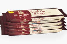 Mature Cheese Snack Bars - The Cathedral City Snack Cheese Bars Support a Healthy, On-the-Go Life