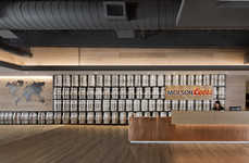 Keg-Covered Office Spaces - The Molson Coors Office Features Imagery Inspired by the Brand Itself