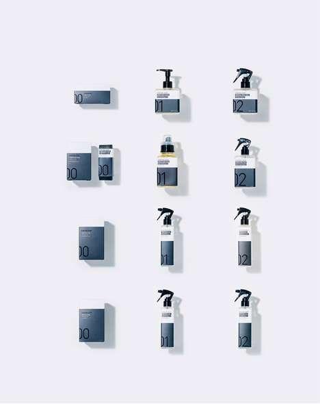 Numerical Household Detergent Branding