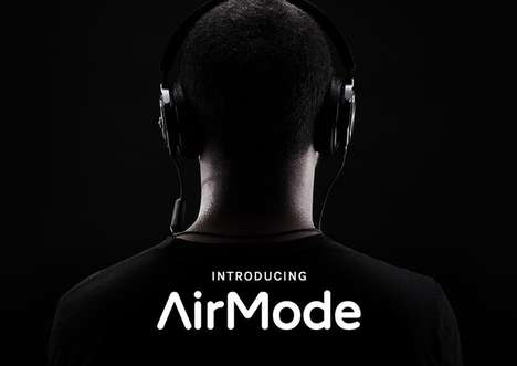 Wireless-Enabling Headphone Adapters - The 'AirMode' Wireless Switch Transforms Wired Headphones