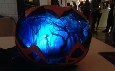 Supernatural Jack-O'-Lanterns