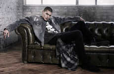 Distressed Grunge Menswear - OTHER UK's 'Liberty' Line Features Stylishly Frayed Clothing and More
