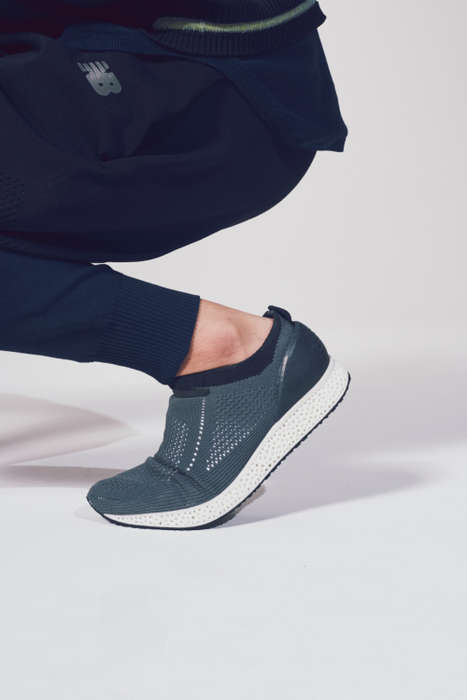 Knitted 3D-Printed Sneakers - This New Balance Collaboration with Concepts is Sleek and Comfortable