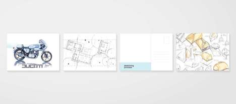 Educational Template Sketching Books