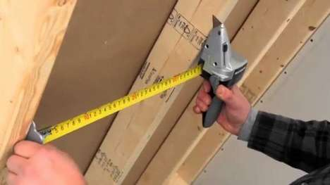 Precision Measurement Cutting Tools - The MAXIMUM Drywall Axe Measurement Tool Ensures Even Cuts