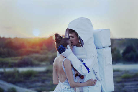 Cosmic Wedding Photography - Neringa Rekasiute Lensed a Young Couple in a Poetic Galactic Setting