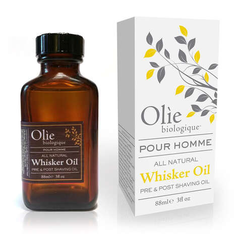 Anti-Aging Beard Oils - Olie biologique's Natural Whisker Oil Soothes Pre or Post-Shave Skin