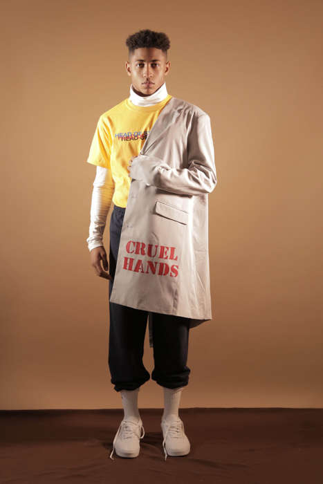Political Statement Streetwear - Head of State's 'Cruel Hands' Collection Combats Societal Problems