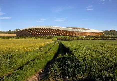 Wooden Football Stadiums