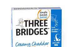 Fresh Macaroni Kits - Three Bridges' Macaroni and Cheese Kit Emphasizes Authentic Ingredients