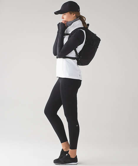 Wintry Running Apparel - Lululemon's 'Run for Cold' Collection is Insulated, Yet Breathable