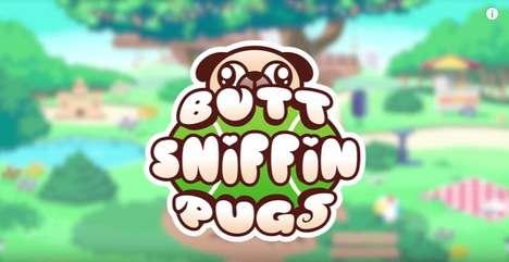 Goofy Pug Video Games