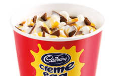 Festive Easter Milkshakes - McDonald's Cadbury Creme Egg McFlurry is Filled with the Easter Treat