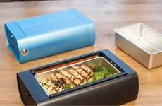 Portable Lunchbox Ovens - 'HeatsBox' Warms Up Home-Cooked Food for Lunches