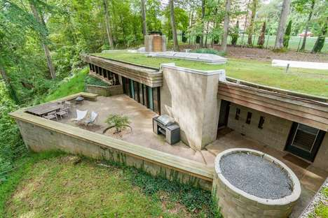 Modernist Bunker Homes - This Mid-Century Modern Home Was Built by Donald Reed Chandler