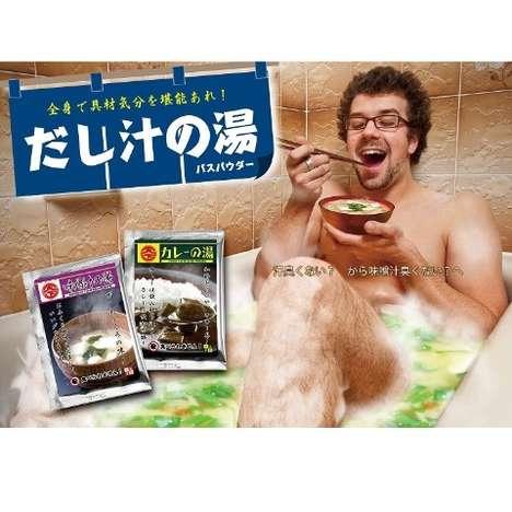 Soup-Scented Bath Salts