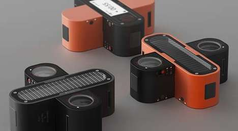 Interconnecting 3D Action Cameras - The 'PLUS' Camera Concept Criss-Crosses Components Together