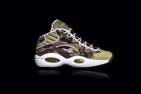Camouflage Anniversary Sneakers