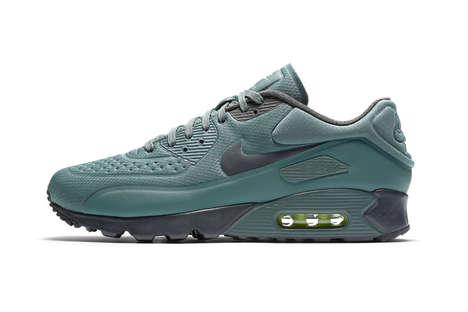 Revitalized Teal Sneakers