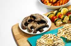 Grilled Vegetable Steaks - Tesco's Cauliflower and Mushroom BBQ Steaks are a Meat-Free Dinner Option