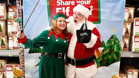 Holiday Retail Selfie Booths