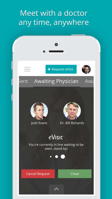 Virtual Doctor-Visiting Apps - The eVisit App Offers Easy Access to Physicians Round the Clock