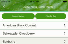Edible Plant Discovery Apps - This App Helps Users Get the Most Out Of Different Parts Of Plants