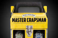Cheeky Handyman Cosmetic Gifts - The Poo-Pourri 'Master Crapsman' Men's Gift Set is Geared for Guys