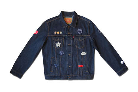 Co-Branded Denim Jackets - This Levi's Jacket Was Made with olette & Ceizer for a New Capsule Line