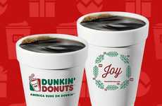 Festive Donut Promotions - The #DDCoffeeJoy Contest Asked Customers to Share Dunkin' Donuts Moments