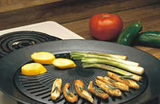 Flavor-Infusing Indoor Grills - This Smokeless Indoor Stovetop Grill Enables Grilling without a BBQ