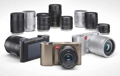 Retro Aluminum Design Cameras - The Leica TL Compact Mirrorless Camera is Strong Inside and Out