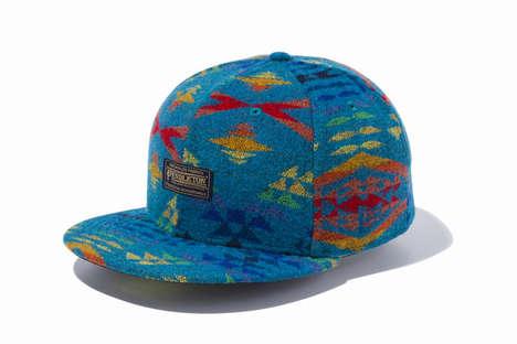 Navajo-Inspired Caps